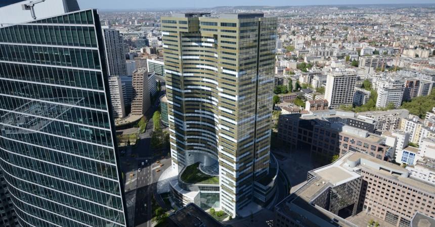 Icade sur le point de louer 40 468 m2 dans la tour Eqho à un utilisateur