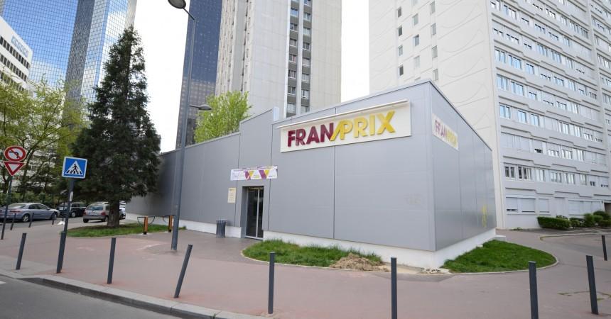 Le Franprix du square Henri Regnault ouvrira début mai