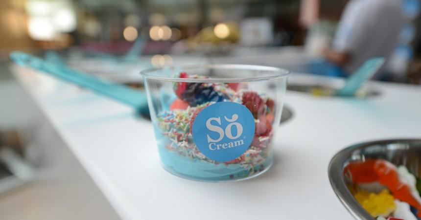 So Cream, les yaourts glacés gourmands débarquent aux 4 Temps