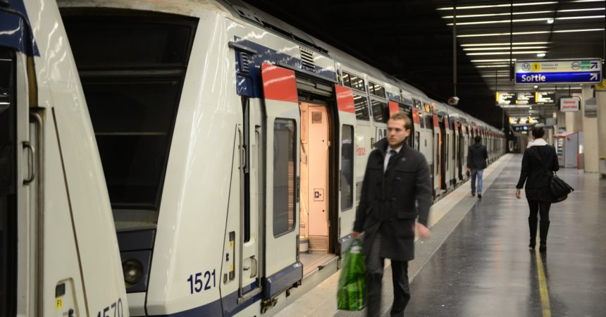 Le RER A s'interrompt en soirée pendant deux semaines sur les branches de Cergy et Poissy