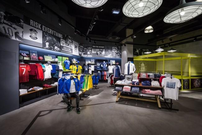 La boutique Nike des 4 Temps - DR
