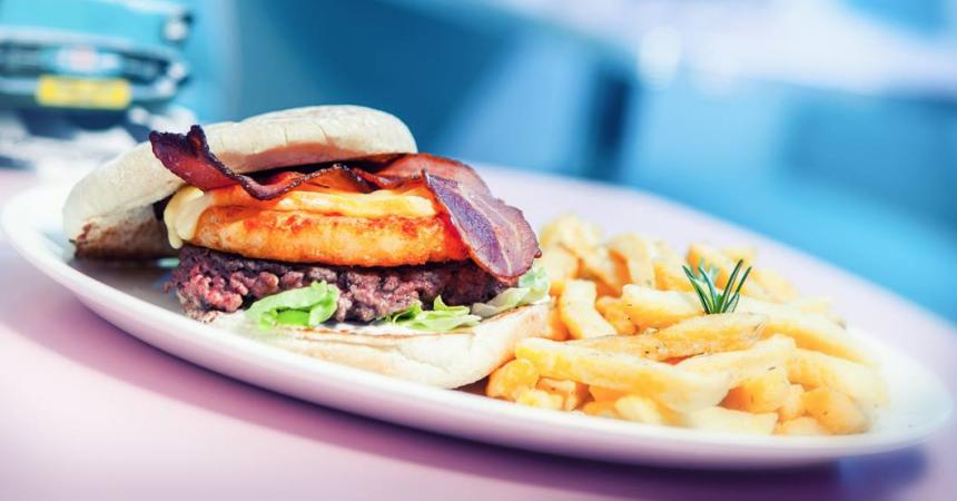 Les burgers de HD Diner bientôt aux 4 Temps