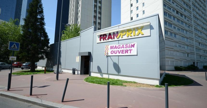Franprix provisoire Coupole-Regnault
