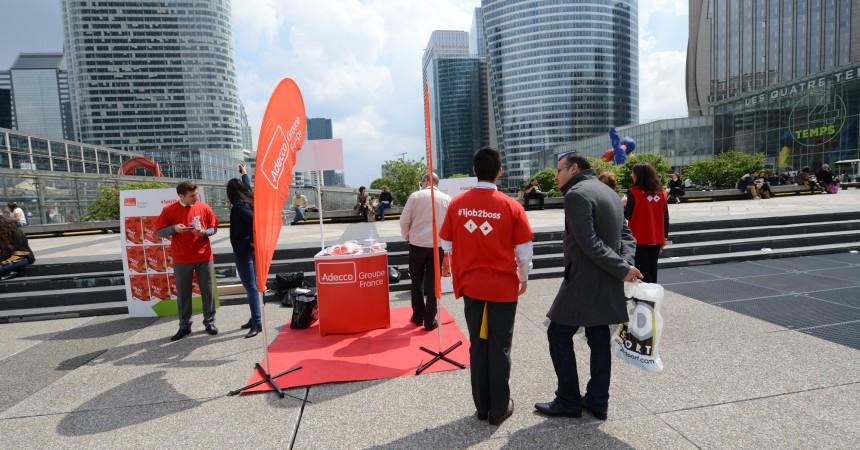 Adecco organise Way to Work: une journée pour aller à la rencontre des jeunes vers l'emploi