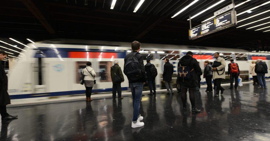Cette semaine les RER A ne circulent pas en soirée sur la branche de Cergy