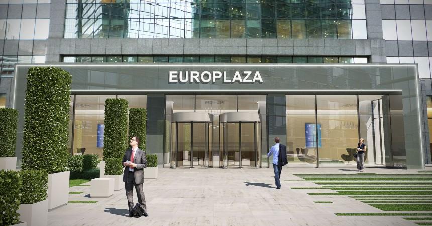 La tour Europlaza veut devenir une « tour jardin »