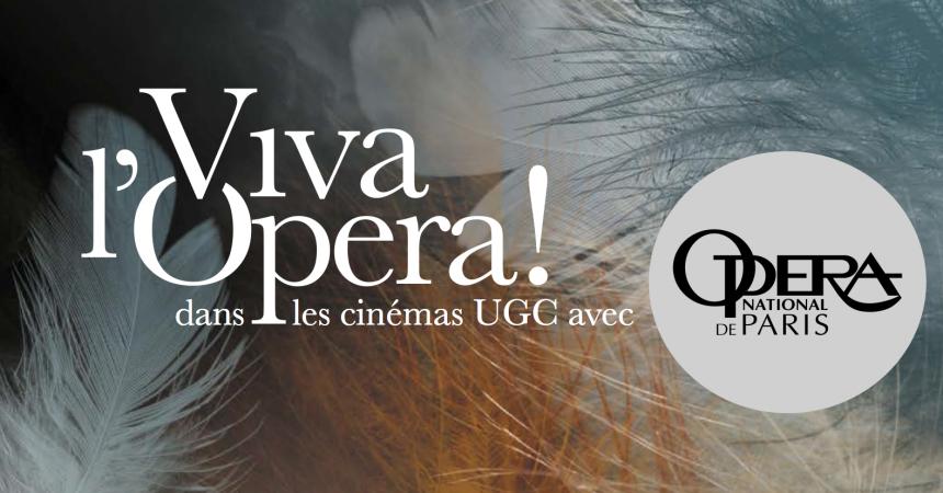 Viva l'Opéra : Le Ballet de l'Opéra de Paris, le 18 décembre à l'UGC de La Défense