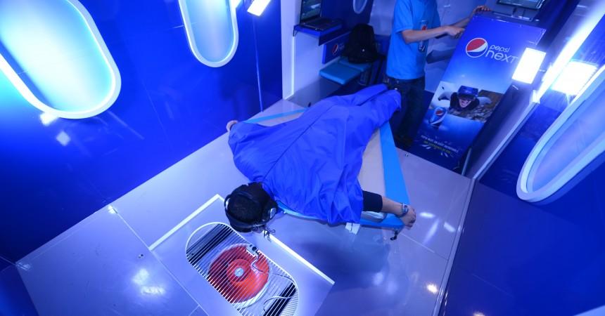 Pepsi fait vivre un saut en wingsuit à bord de son simulateur
