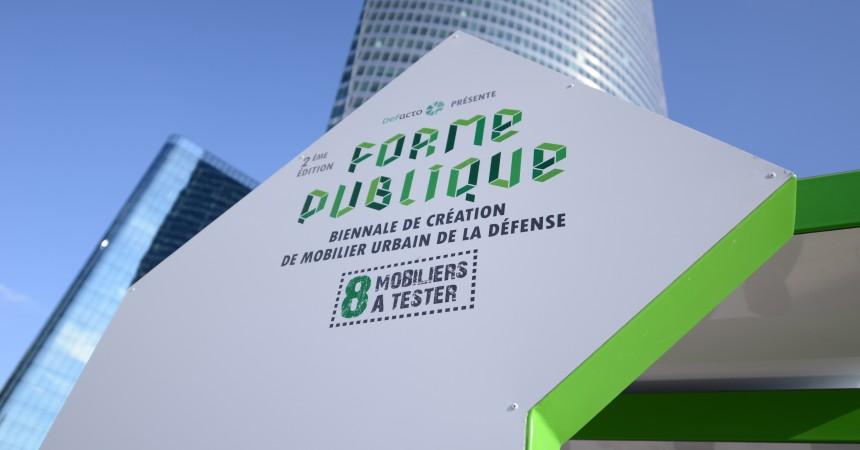 Defacto lance l'ouverture des candidatures pour la troisième édition de la biennale du mobilier urbain « Forme Publique »