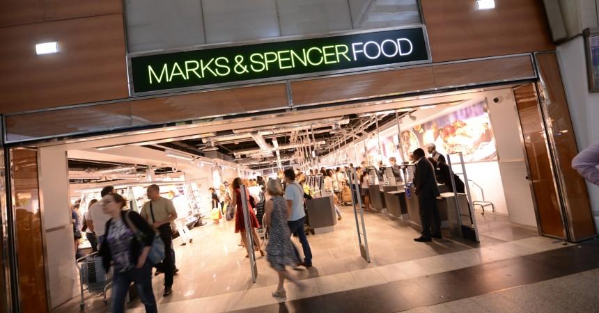 """Levée de rideau sur le premier Mark and Spencer dédié au """"food"""""""