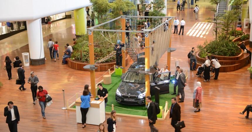 BMW transforme les 4 Temps en un parcours d'accrobranche