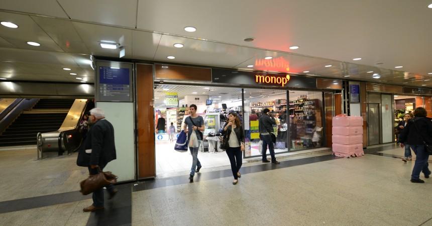 Un Casino Shop pour remplacer le Monop' dans la gare Coeur Transport
