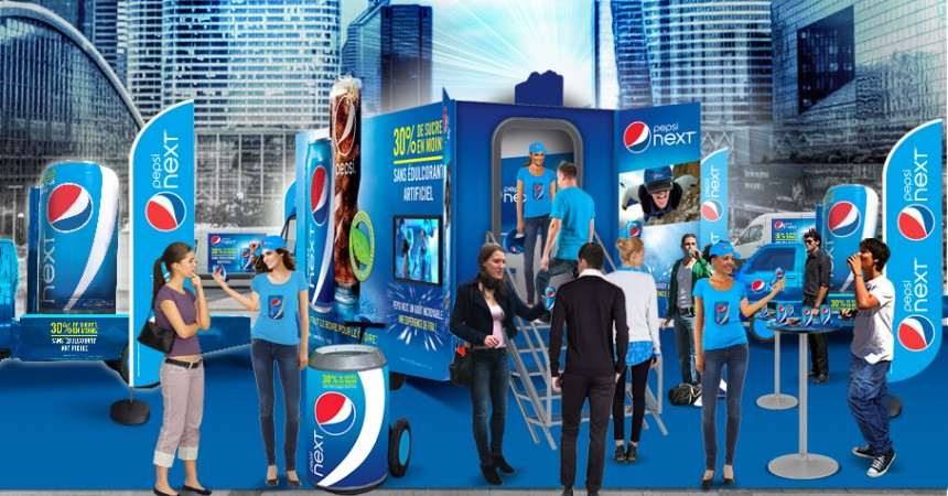 Pepsi va vous faire vivre des sensations des fortes