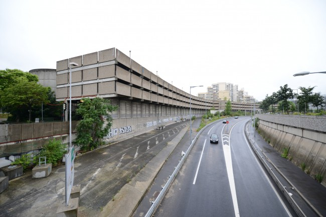 Le parking MP 89 à Nanterre - Defense-92.fr