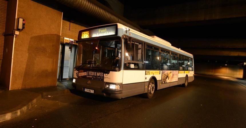 Plus de bus sur les lignes 178 et 275