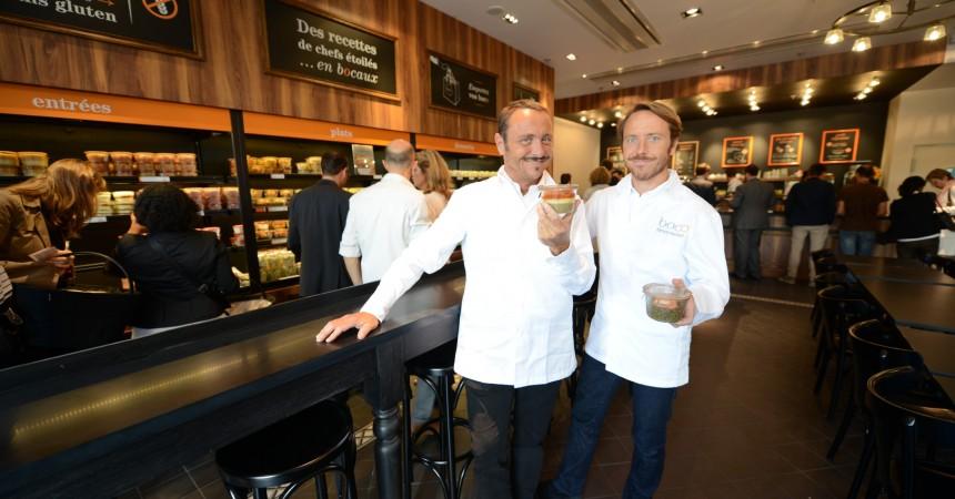 Boco : Un restaurant avec de la nourriture de chefs étoilés en «bocos»