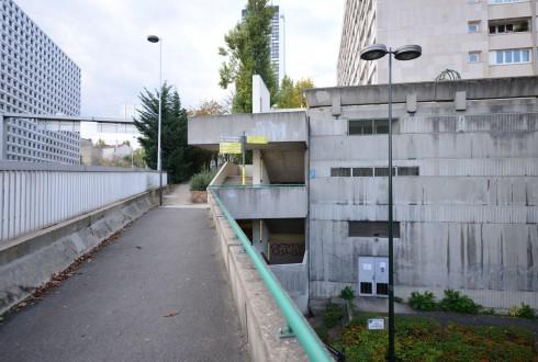 L'escalier actuel de la rue Jean Moulin - Defense-92.fr