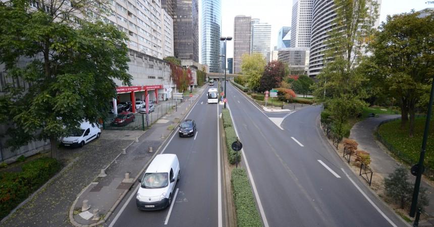 Bientôt une piste cyclable pour relier Puteaux et Courbevoie par La Défense
