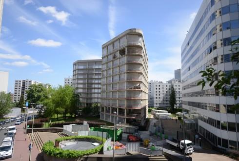 La rénovation de l'immeuble E+ le 18 mai 2015 - Defense-92.fr