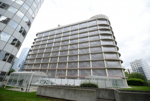 La rénovation de l'immeuble E+ le 26 mai 2015 - Defense-92.fr