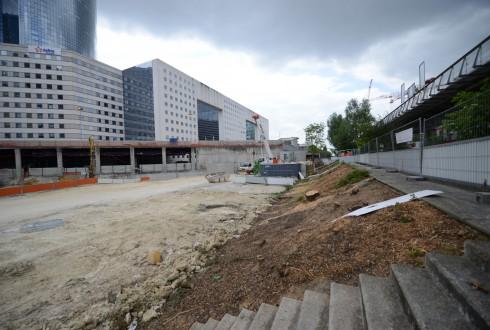 Le chantier Sky Light le 26 mai 2015 - Defense-92.fr