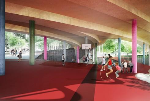Le projet du réaménagement de la Rose de Cherbourg - DR / Epadesa