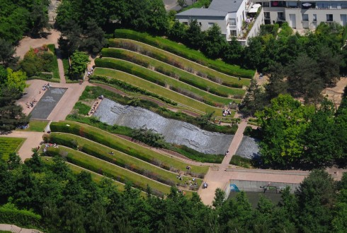 Le parc Diderot en 2013 - Defense-92.fr