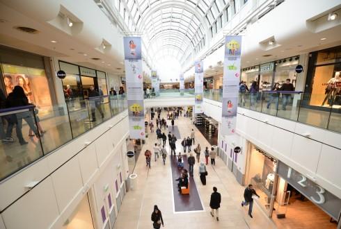 Le centre commercial le dimanche 3 novembre 2014 - Defense-92.fr