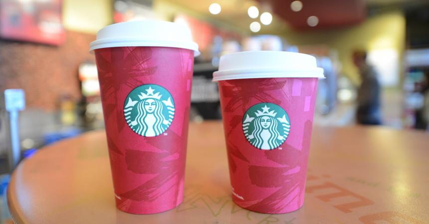 Starbucks vous offre votre deuxième boisson du 6 au 9 novembre