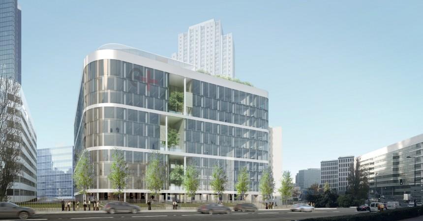Sogeprom cède son futur siège social, l'immeuble E+ à Primonial REIM