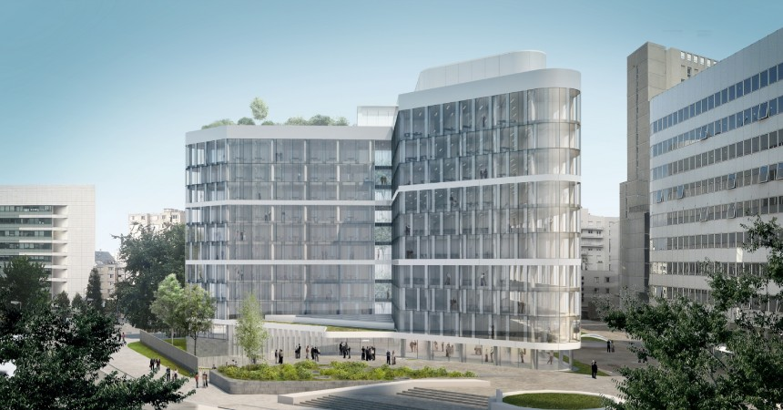 Sogeprom va transformer l'immeuble Ampère en l'immeuble E+