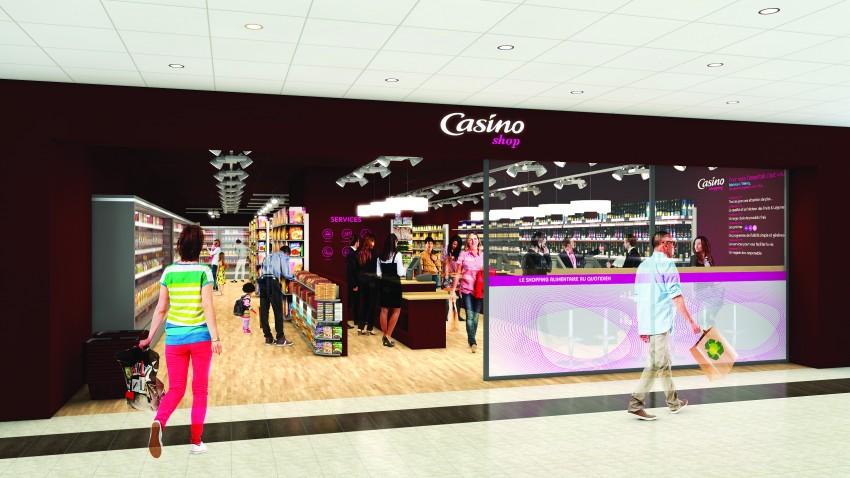 Le futur Casino Shop de la gare de La Défense - Defense-92.fr