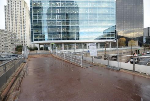 Le terrain du projet Trinity le 8 décembre 2014 - Defense-92.fr