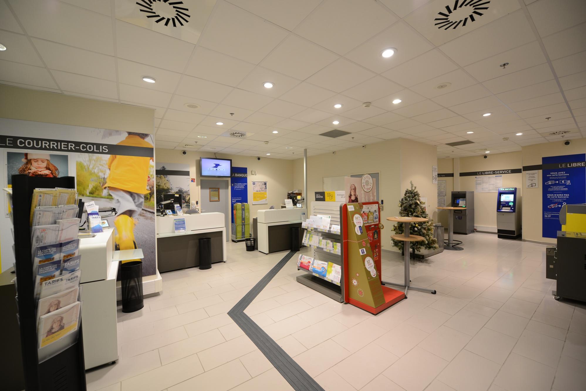 400 000 euros investis pour moderniser le bureau de poste de la gare