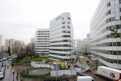 La rénovation de l'immeuble E+ le 15 décembre 2014 - Defense-92.fr