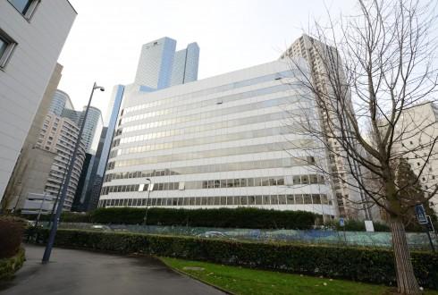 La rénovation de l'immeuble E+ le 22 décembre 2014 - Defense-92.fr