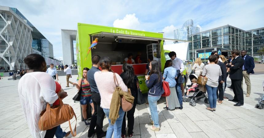 A vous de choisir les vingt food trucks qui s'installeront à La Défense