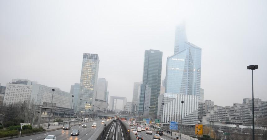 En 2014, La Défense a sorti la tête du brouillard