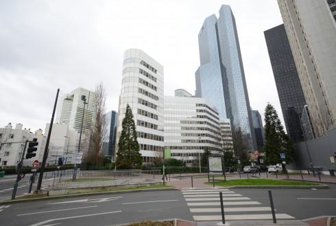 La rénovation de l'immeuble E+ le 13 janvier 2015 - Defense-92.fr