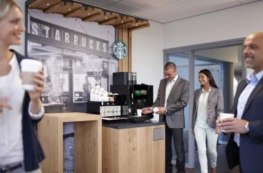 Starbucks veut conquérir les machines à café des bureaux