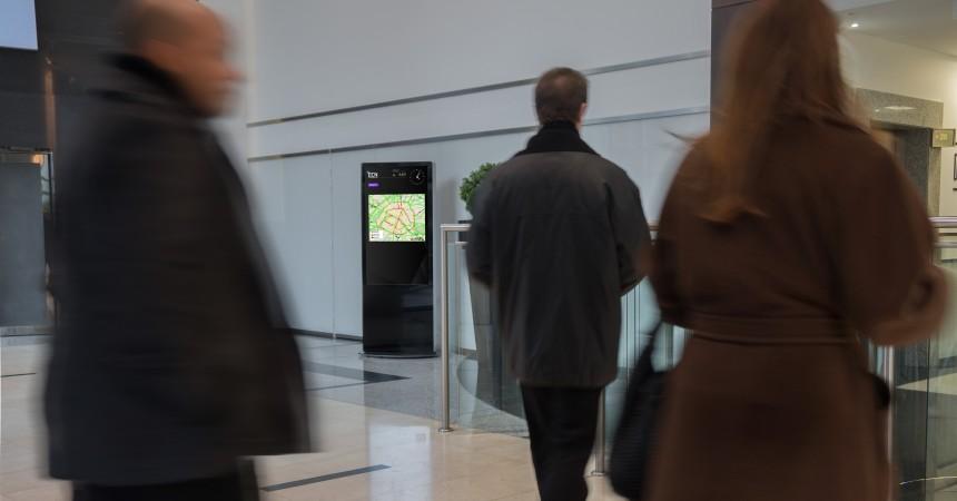 ECN poursuit son déploiement à La Défense avec de nouveaux écrans à la tour Egée et à la Galerie de l'Esplanade
