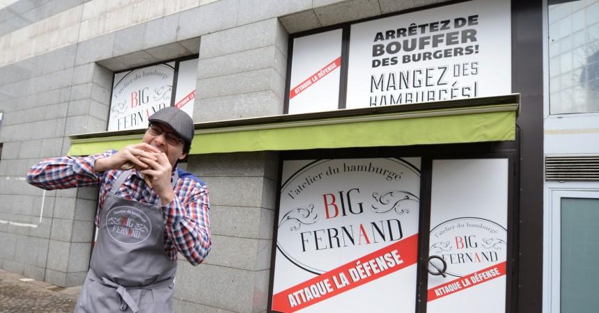 Big Fernand arrivera finalement avant l'été à La Défense