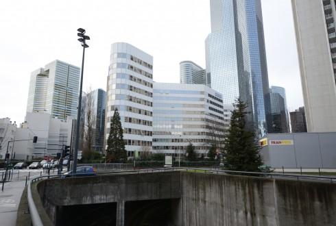 La rénovation de l'immeuble E+ le 23 février 2015 - Defense-92.fr