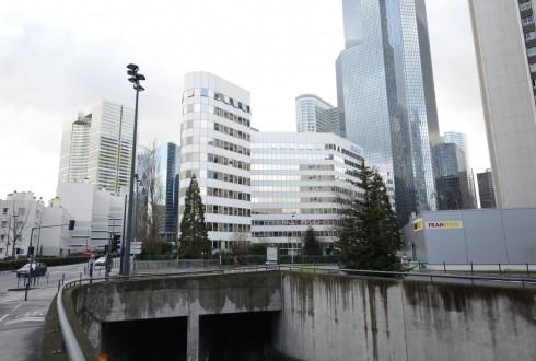 La rénovation de l'immeuble E+ le 2 février 2015 - Defense-92.fr