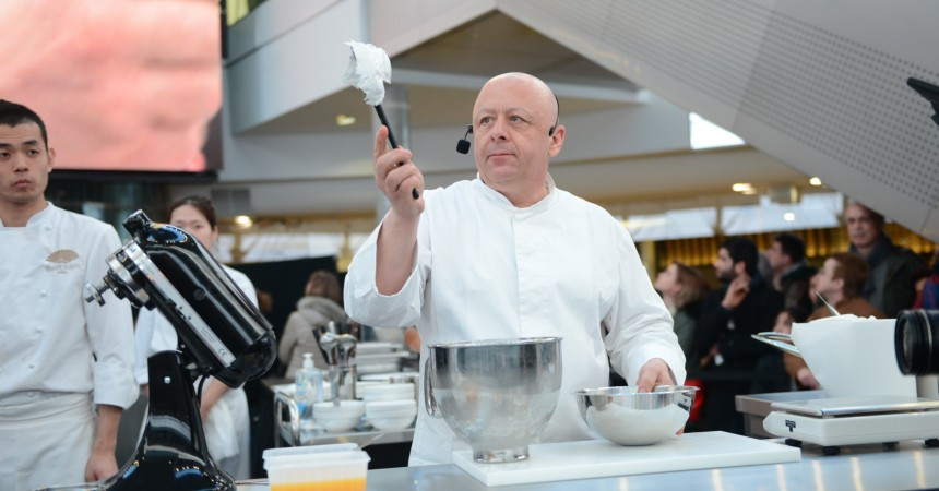 Thierry Marx fait son show culinaire aux 4 Temps