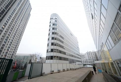 La rénovation de l'immeuble E+ le 9 février 2015 - Defense-92.fr