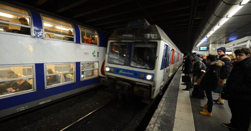 Ce weekend la ligne U du Transilien sera totalement fermée et la L partiellement