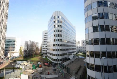 La rénovation de l'immeuble E+ le 16 février 2015 - Defense-92.fr