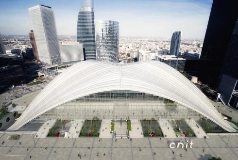 Une vue d'ensemble des sorties de la gare du RER E - DR