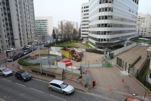 La rénovation de l'immeuble E+ le 16 mars 2015 - Defense-92.fr